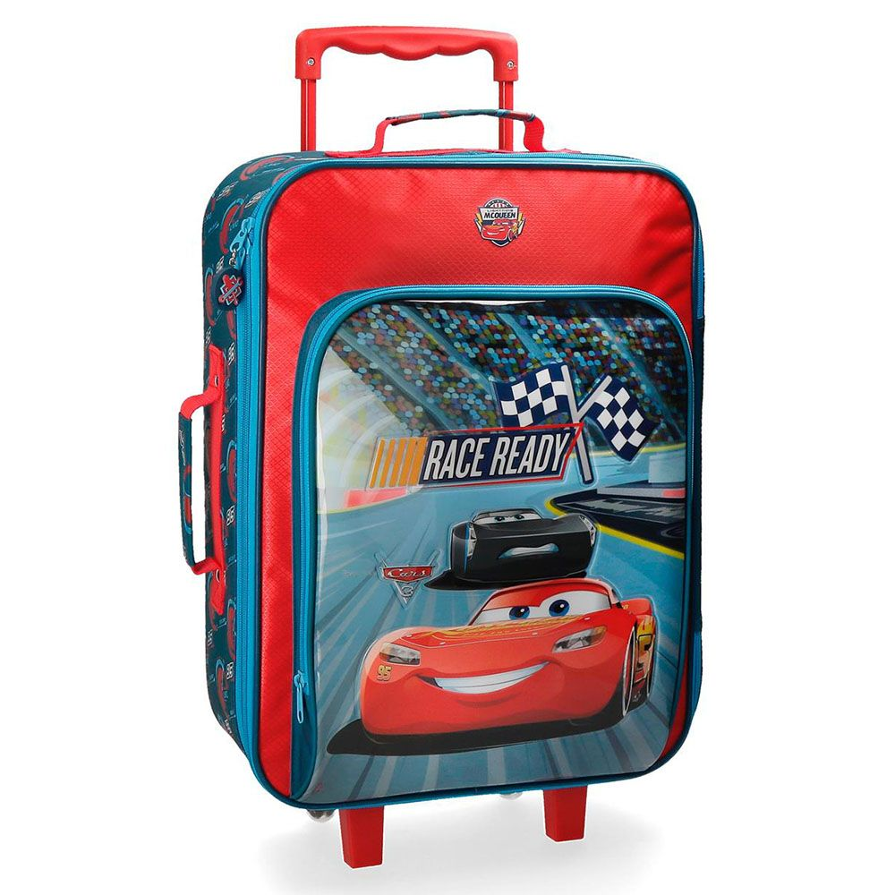 Disney Soft Trolley 50 Cm 2 Wheels Cars Race