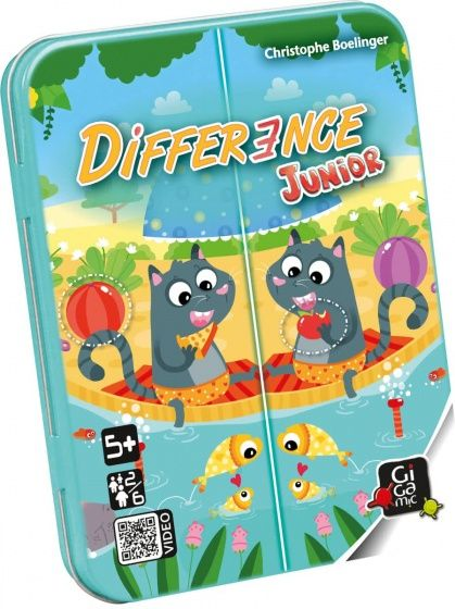 Gigamic kaartspel Difference Junior